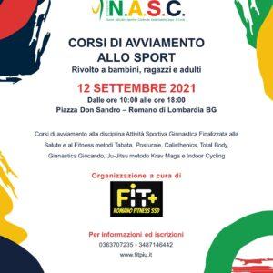 Domenica 12 settembre presso la Piazza Don Sandro a Romano di Lombardia (BG), a partire dalle ore 10:00 la SSD RomanoFitness gestirà corsi di avviamento allo sport, con l'obiettivo di portare le persone a fare attività sportiva.